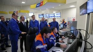 Посещение центральной операторной завода «Ямал СПГ»