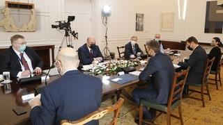 Переговоры с Премьер-министром Греции Кириакосом Мицотакисом
