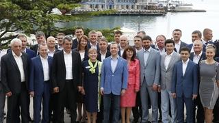 Встреча с участниками предварительного голосования партии «Единая Россия» от Крыма
