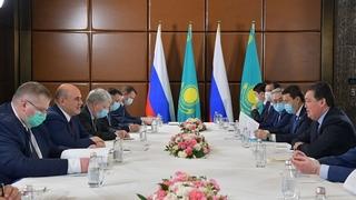 Встреча Михаила Мишустина с Премьер-министром Казахстана Аскаром Маминым