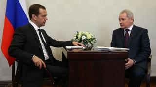 Встреча с губернатором Пермского края Виктором Басаргиным