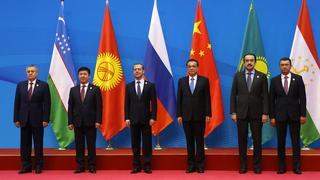 Совместное фотографирование глав правительств государств – членов ШОС