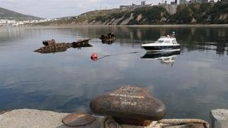 Посещение рыбного терминала Магаданского морского порта