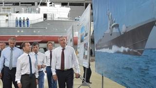 Посещение судостроительного завода «Море»