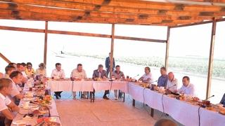 Встреча с работниками сельскохозяйственной отрасли
