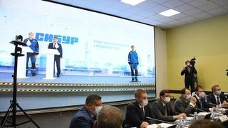 Церемония запуска строительства Амурского газохимического комплекса