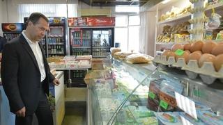Посещение магазина в Астраханской области