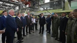 Беседа с работниками Иркутского авиационного завода корпорации «Иркут»