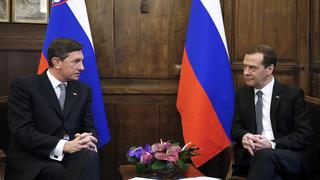 Беседа с Президентом Словении Борутом Пахором