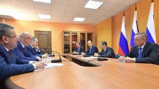 Встреча с руководством ГК «Металлоинвест»
