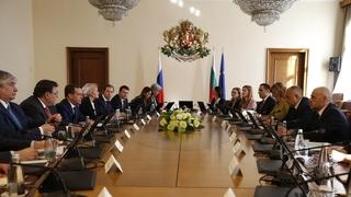 Российско-болгарские переговоры