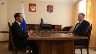 Встреча с губернатором Калининградской области Николаем Цукановым