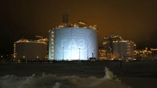 Осмотр территории производственно-технологического комплекса завода «Ямал СПГ»