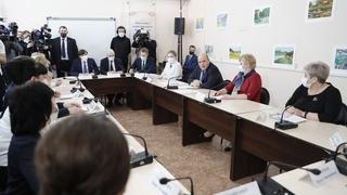 Встреча с учителями средних школ Алтайского края – участниками программы «Земский учитель»