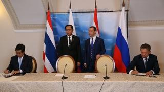 Подписание российско-таиландских документов по завершении переговоров