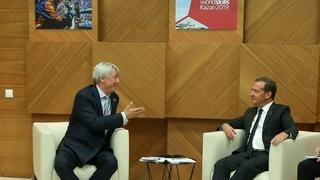 Встреча с президентом WorldSkills International Саймоном Бартли