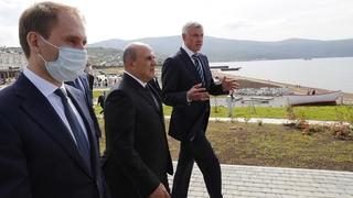 Посещение парка «Маяк». С министром по развитию Дальнего Востока и Арктики Александром Козловым и губернатором Магаданской области Сергеем Носовым