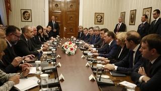 Встреча с Президентом Болгарии Руменом Радевым