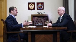 Встреча с губернатором Оренбургской области Юрием Бергом