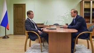 Рабочая встреча с Денисом Мантуровым