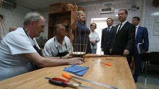 Посещение липецкого областного Центра реабилитации инвалидов и пожилых людей «Сосновый бор»