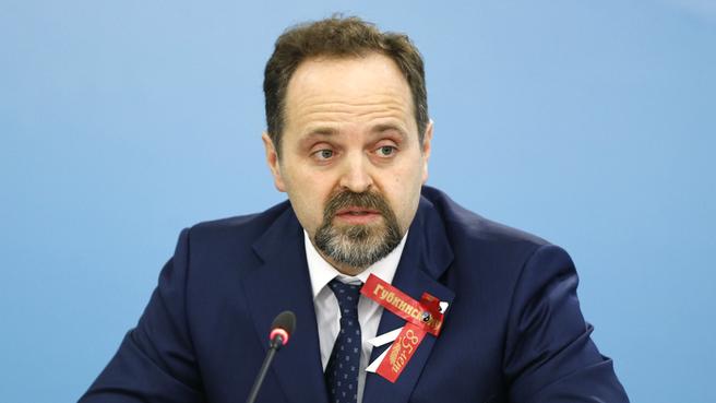 Доклад Сергея Донского на заседании
