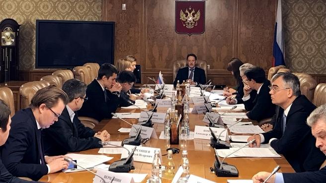 Заседание межведомственной рабочей группы по реализации Стратегии повышения качества пищевой продукции в Российской Федерации до 2030 года