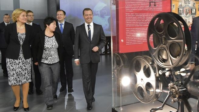 Посещение Государственного центрального музея кино
