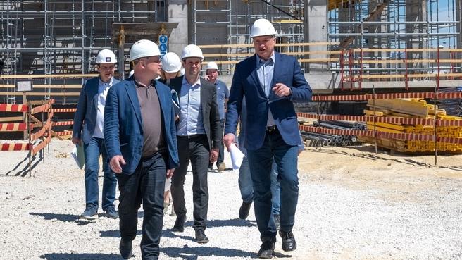Марат Хуснуллин проверяет ход строительства крупных инфраструктурных объектов Севастополя