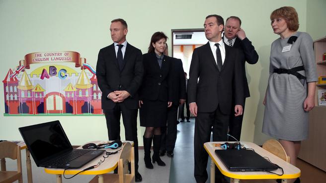 Посещение образовательного комплекса «Детский сад – начальная школа» калининградской гимназии №22