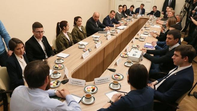 Встреча со студентами Казанского (Приволжского) федерального университета