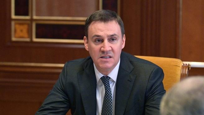Доклад Дмитрия Патрушева на селекторном совещании о ходе весенних полевых работ