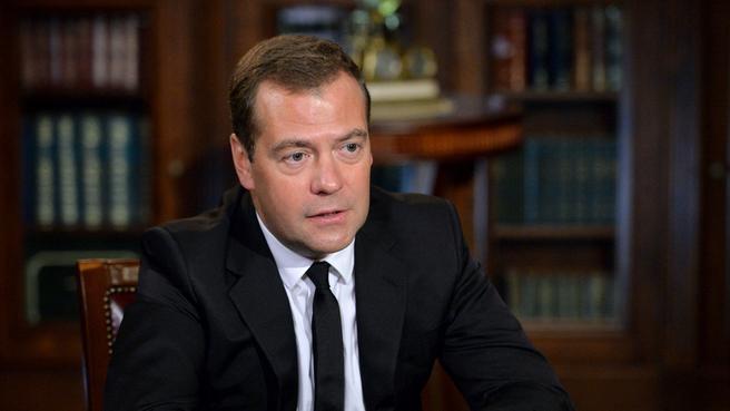 Интервью газете «Ведомости»
