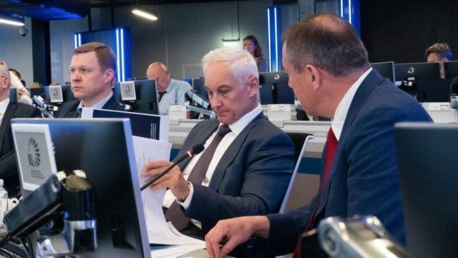 Андрей Белоусов на втором заседании Комиссии Госсовета по направлению «Инвестиции»