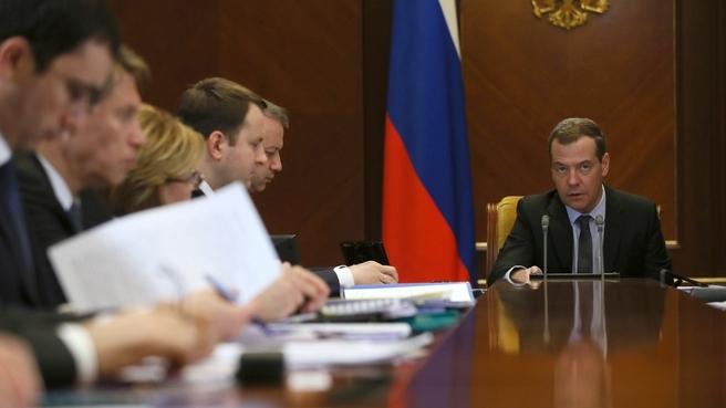 Вступительное слово Дмитрия Медведева на совещании о поддержке локализации производства медицинских изделий в России
