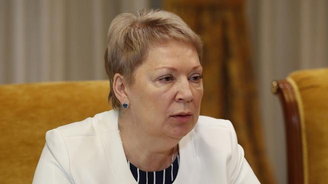 Доклад Ольги Васильевой на совещании о готовности системы образования к началу нового учебного года
