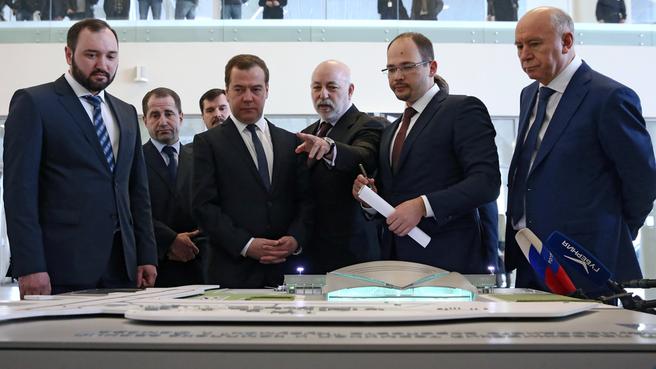 Осмотр нового пассажирского терминала международного аэропорта «Курумоч» (презентация проектов ЗАО УК «Аэропорты регионов»)