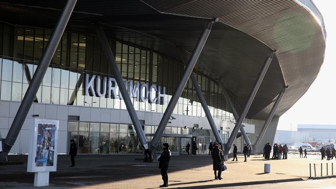 Новый пассажирский терминал международного аэропорта «Курумоч»
