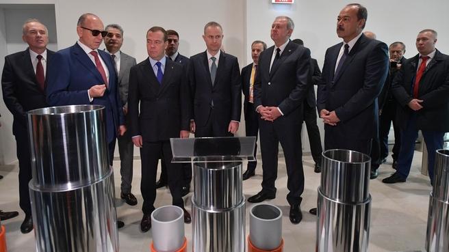 Посещение Научно-технического центра ПАО «Трубная металлургическая компания» и АО «Группа Синара»