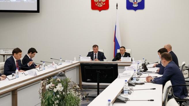Марат Хуснуллин представил нового главу Минстроя России