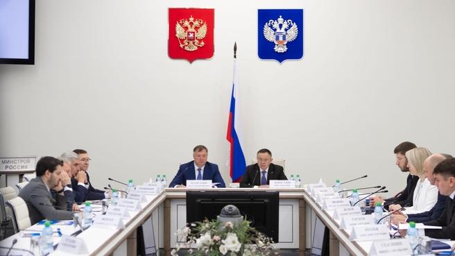 Марат Хуснуллин принял участие в итоговом заседании коллегии Минстроя