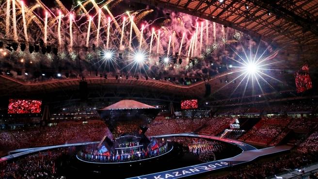 Открытие мирового чемпионата по профессиональному мастерству WorldSkills Kazan 2019