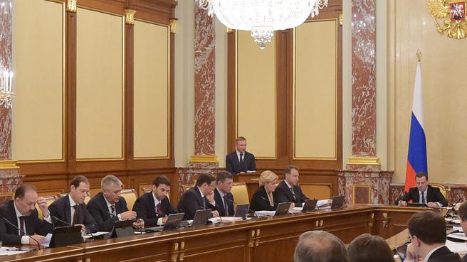 Доклад Министра образования и науки Дмитрия Ливанова на заседании Правительства