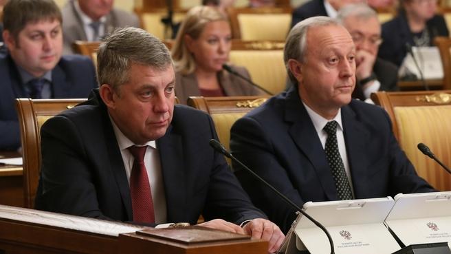 Сообщение губернатора Брянской области Александра Богомаза на заседании Правительства