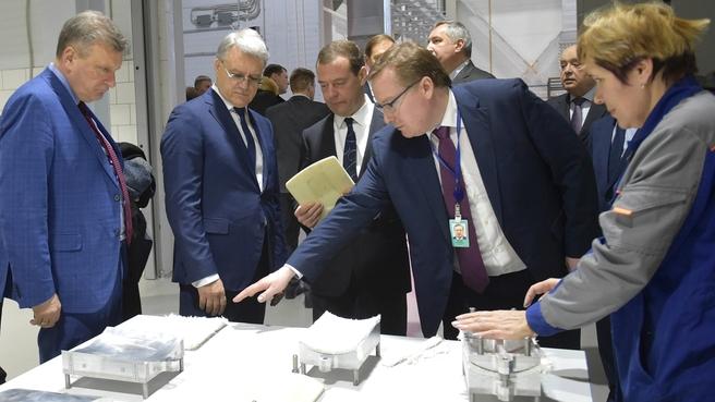 Посещение Кировского машиностроительного предприятия