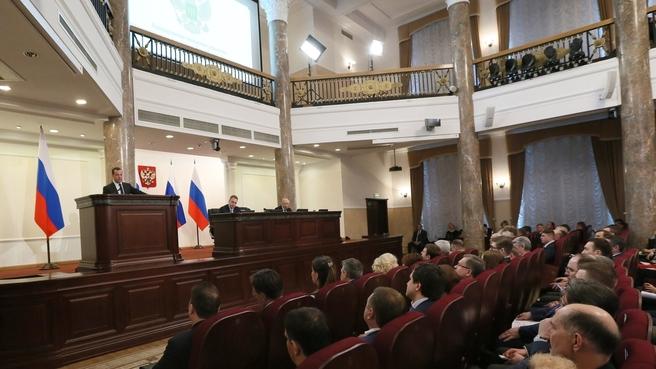 Расширенная коллегия Министерства финансов