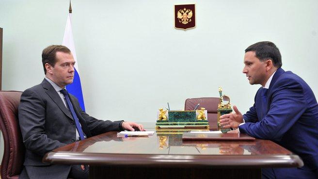Беседа с губернатором Ямало-Ненецкого автономного округа Дмитрием Кобылкиным