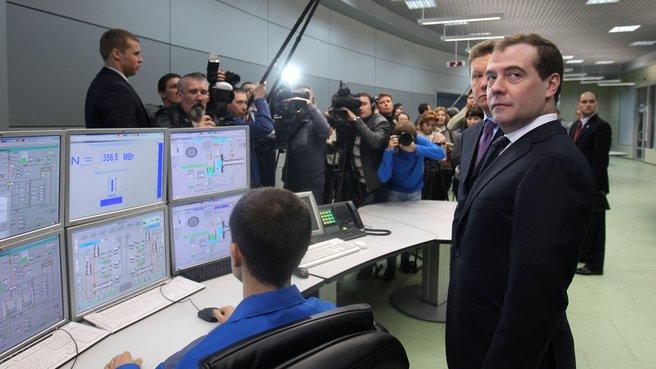 Посещение Адлерской теплоэлектростанции