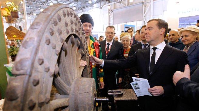 Посещение VIII Международной туристской выставки «Интурмаркет-2013»
