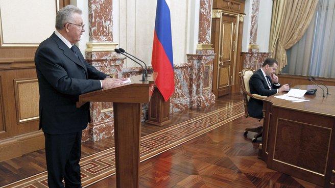Министр по развитию Дальнего Востока–полномочный представитель Президента в Дальневосточном федеральном округе Виктор Ишаев
